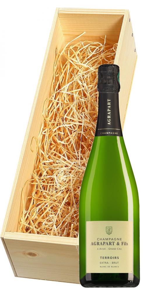 Wijnkist met Agrapart Champagne Grand Cru Terroirs Extra Brut