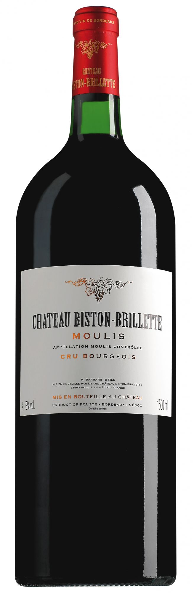 Château Biston-Brillette Moulis magnum