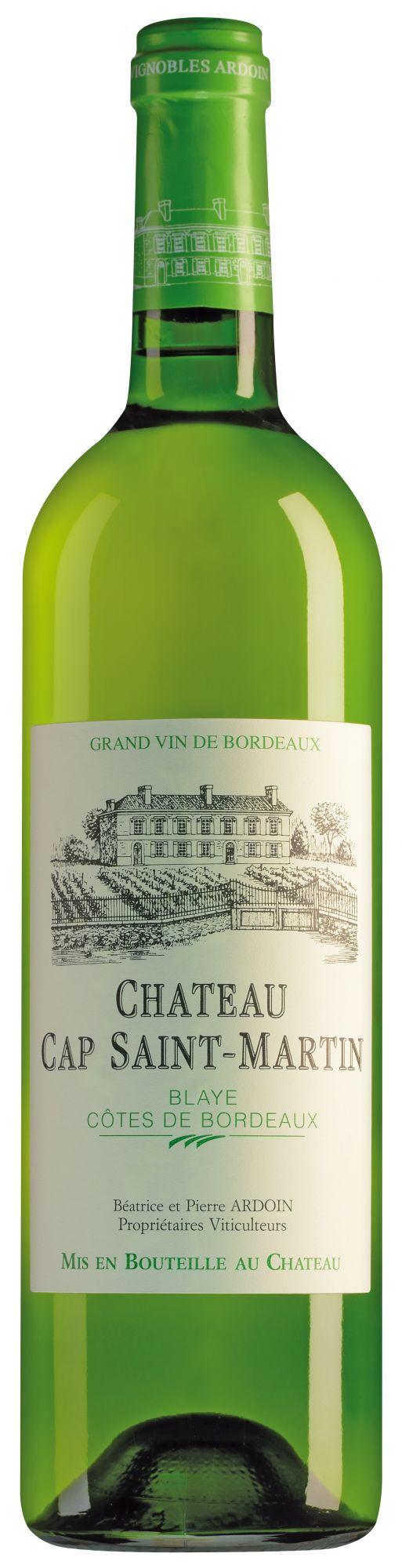 Château Cap Saint Martin Blaye Côtes de Bordeaux Blanc