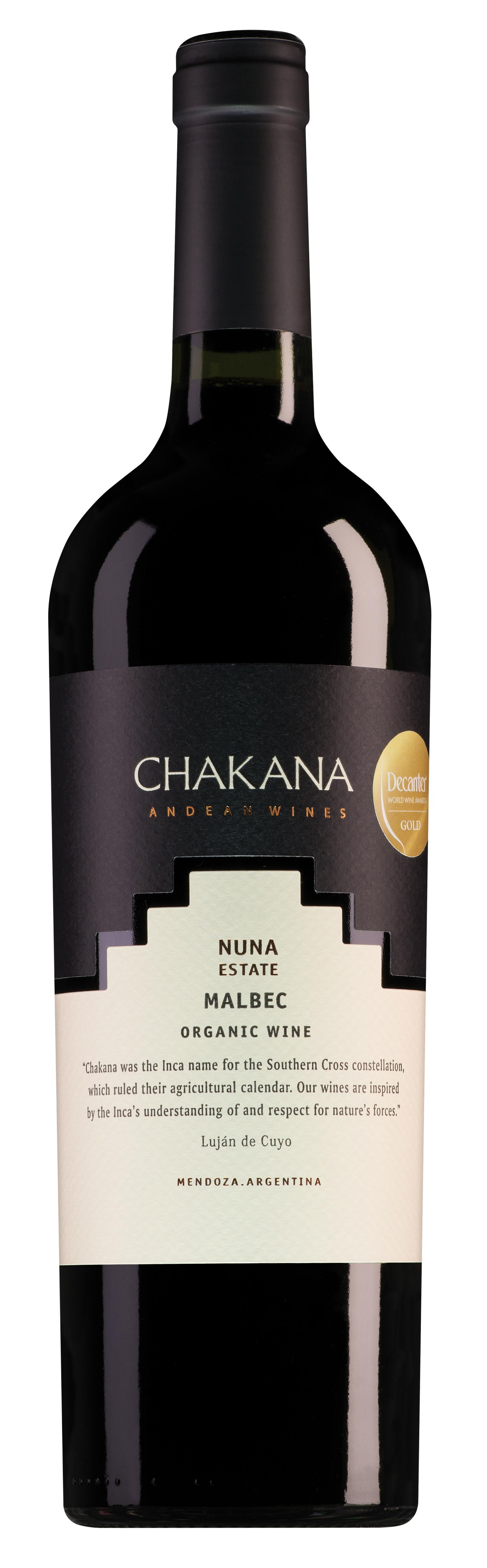 Chakana Mendoza Estate Nuna Malbec