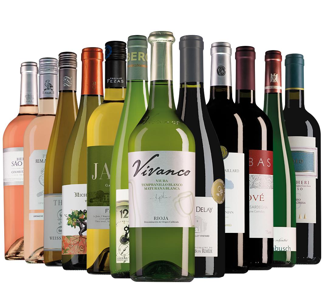 Proefpakket Wijnbericht mei (12 flessen)