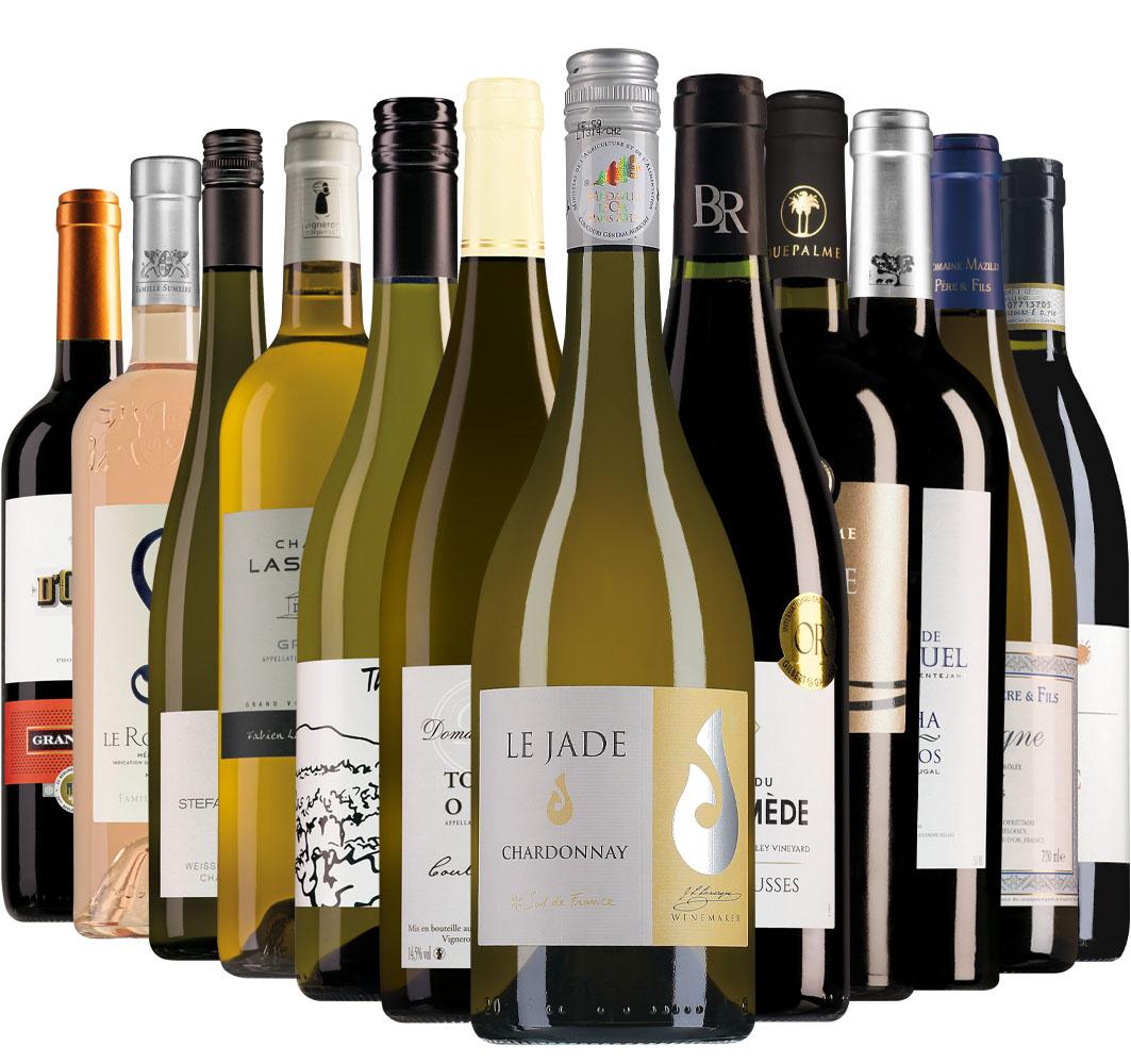 Wijnpakket Wijnbericht augustus (12 flessen)