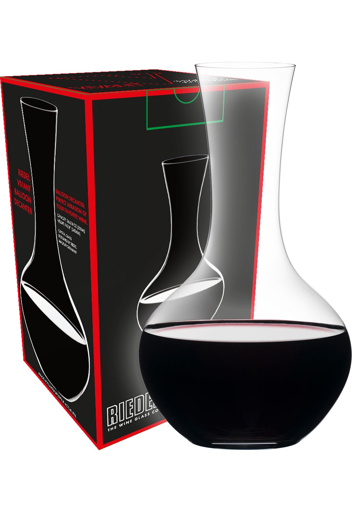 Riedel Decanter Vivant wijnkaraf