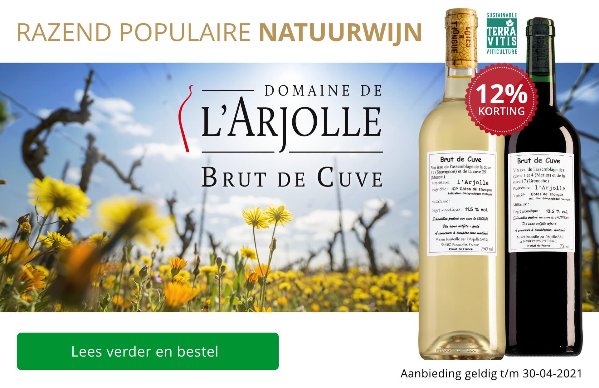 Arjolle Brut de Cuve: beter dan ooit!