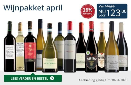 Wijnpakket wijnbericht april 2020(123,00)-blauw